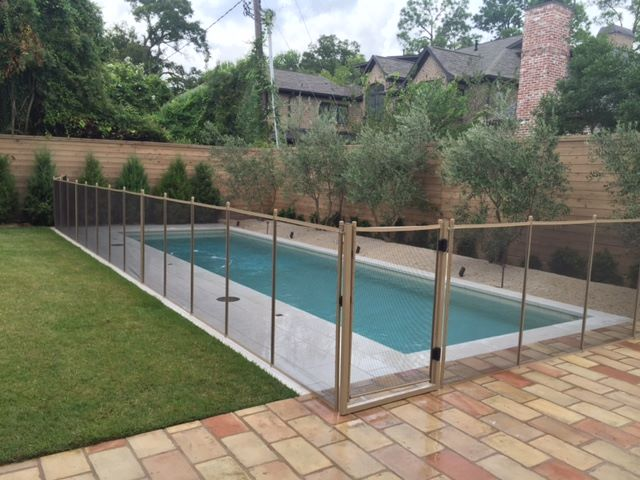 Best Pet Child Pool Safety Fences In Houston Tx Removable Mesh