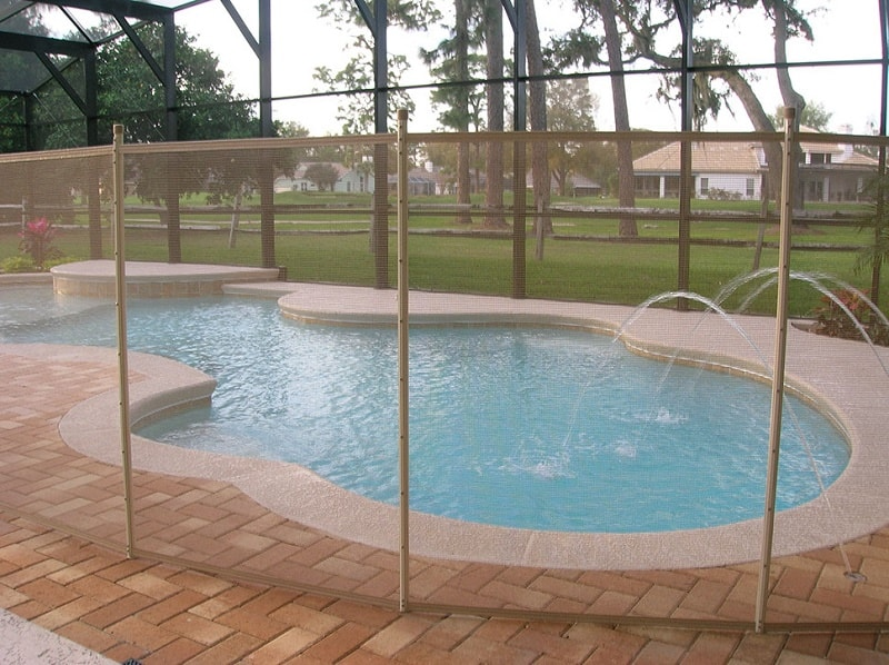 Best pet child pool safety fences in houston tx
