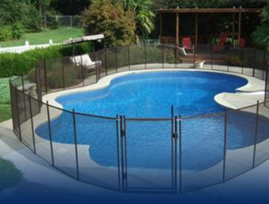 Professional pet child proof swimming pool safety fences covers nets and gates installation for Child alarm for swimming pools