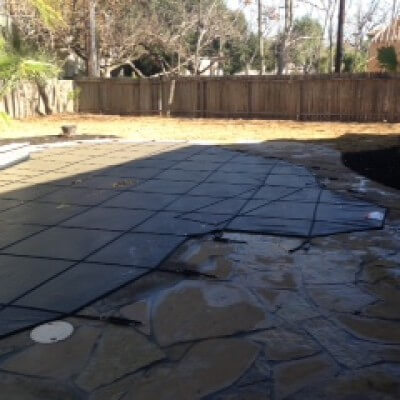 hard pool safety covers pool guard texas